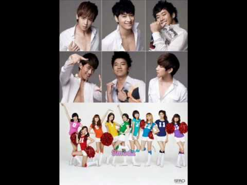 [audio mp3] Snsd & 2pm - Cabi Song video
