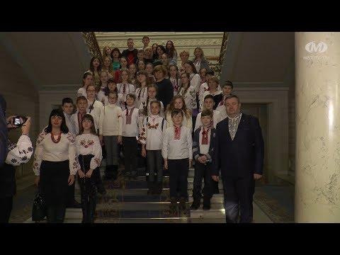 38 хмельницьких школярів відвідали Верховну Раду України