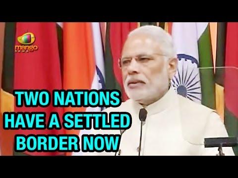 PM Modi Full Speech in Bangladesh | India - Bangladesh Border Issues Settled | Sheikh Hasina