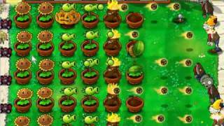 Plants vs Zombies Survival Day Hard