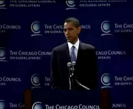 Barack Obama's FOREIGN Policy (GREAT SPEECH)