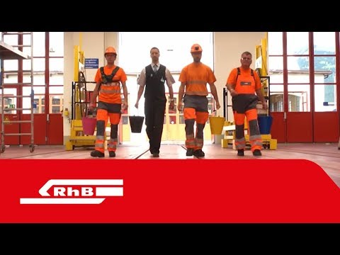 Mitarbeiterfilm Rhätische Bahn