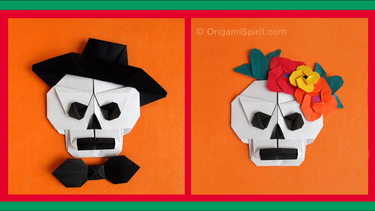 Origami Skulls and Skeletons  Page 1 of 2  Gilads