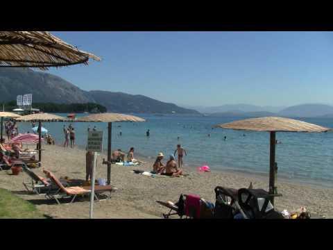 Holiday in Greece Corfu Dassia 2010 City beach Dassia Korfu dovolenka mestská pláž renat.sk web.renat.sk http://web.renat.sk/ http://www.fotocam.sk.