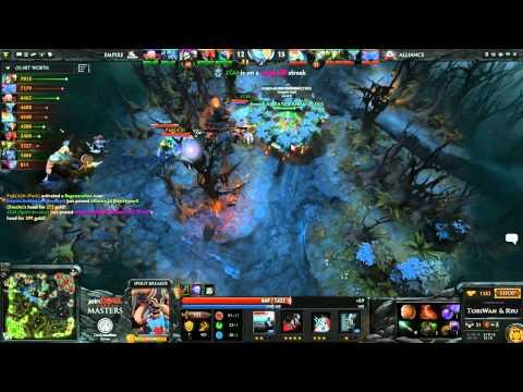 The Alliance vs Team Empire Game 3  joinDOTA Masters Grand Final  TobiWanDOTA RyuUboruZDotA