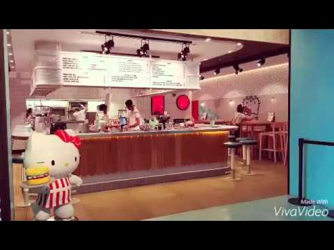 Hello Kitty Diner Australia + matcha menu