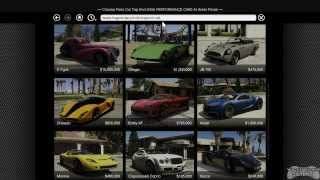 GTA 5 - Buying A Garage And Vehicles
