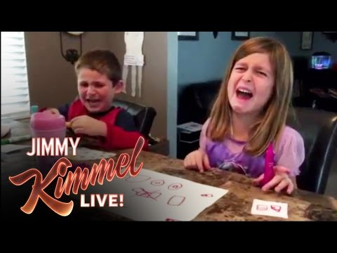 """Jimmy Kimmel's Annual """"I Told My Kids I Ate All Their Halloween Candy"""" prank"""