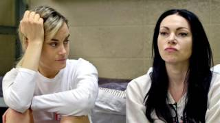 Taylor Schilling and Laura Prepon (Season4 OITNB)