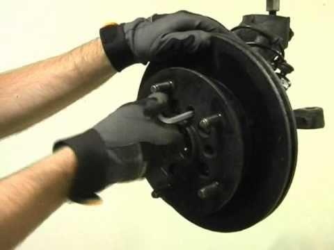 Replacing Of Hub And Wheel Bearing Ford Transit 1091 10