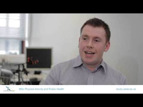 MSc Physical Activity & Public Health@Ulster University - Course Overview