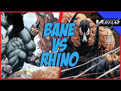 Bane VS Rhino: Epic Battle!