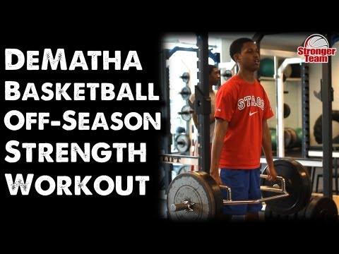 DeMatha Basketball Off-Season Strength Workout