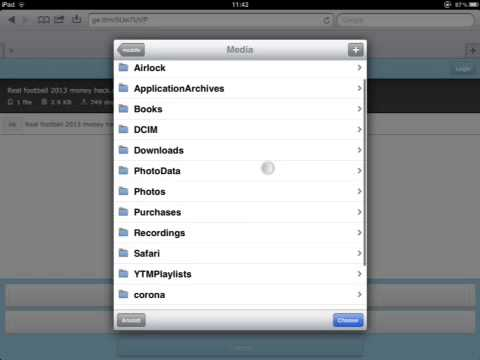 How to hack Real Football 2013 ( iPhone/iPod/iPad )