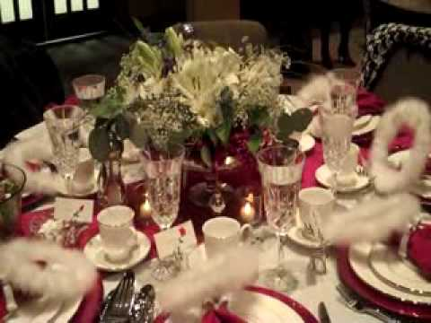 Table Decorations 20090001wmv YouTube