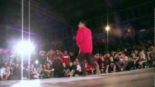 Xisco vs. Roxrite (Adidas Originals Rocks the Floor 2012 FINAL)