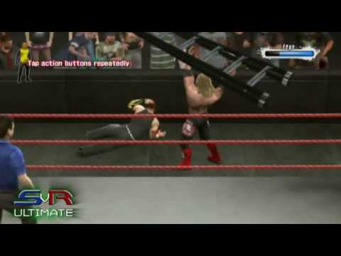 Smackdown Vs. Raw 2009: Online - Jeff Hardy vs. Edge (KINGHARDROC) - Part 1 - (PS3) Video