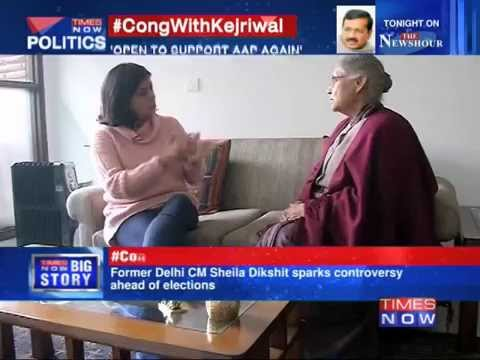 Message for Delhi: Congress With Arvind Kejriwal