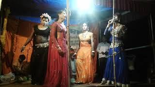 तेरे संग प्यार में most popular  Nautanki Dance Rajan kala party khuthan jaunpur