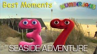 Numberjacks Seaside Adventure | Best Moments