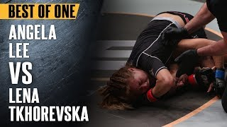 ONE: Best Fights | Angela Lee vs. Lena Tkhorevska | Yet Another Highlight-Reel Submission By Angela