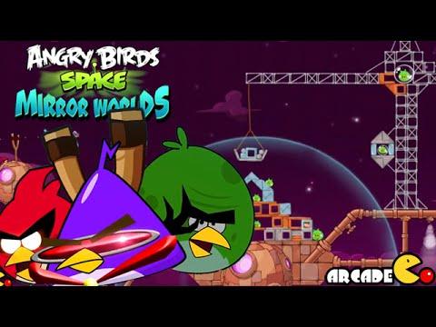 Angry Birds Space: Brass Hogs Level 9-4 Walkthrough 3 Star