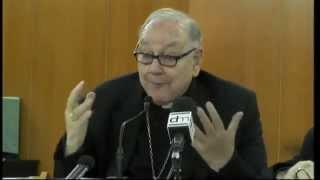 Conferencia del Cardenal Sebastián sobre el sínodo de la familia