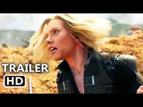 "AVENGERS: INFINITY WAR ""Black Widow in the Battle"" New TV Spot Trailer (2018) Superhero Movie HD"