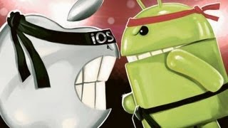 //IOS vs Android// batalla definitiva !