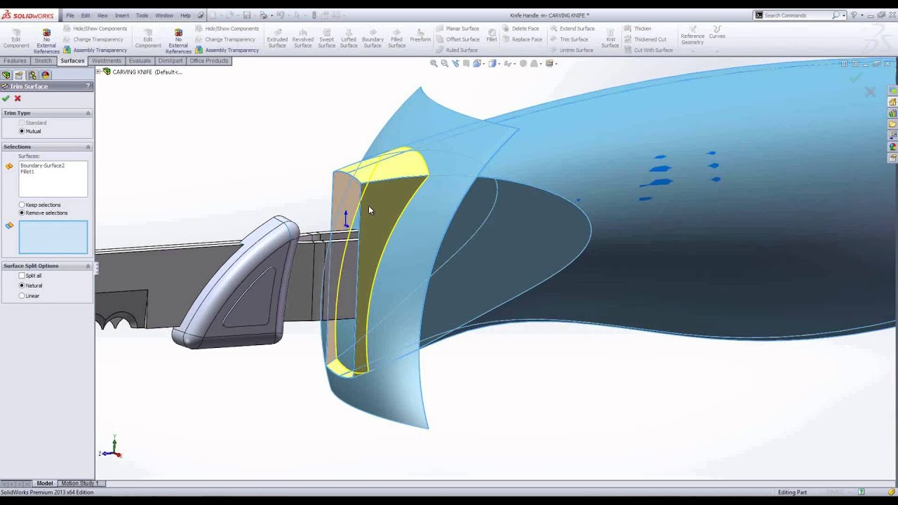 Industrial design using solidworks youtube for Commercial design software
