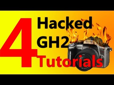 4. Hacked Panasonic GH2 Tutorial Series - Testing Footage - ISO Bug