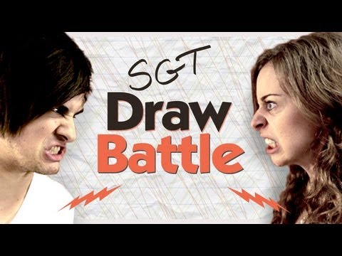 Draw Battle With Smosh's Anthony - See Gurl Try