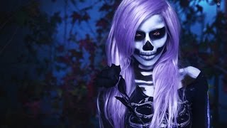 Skeleton Makeup : Watchers of the Night