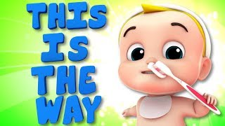 This Is The Way | Junior Squad Nursery Rhymes by Kids TV