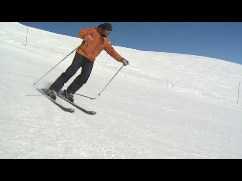 Уроки катания на горных лыжах - Техника катания на горных лыжах Урок 5.1