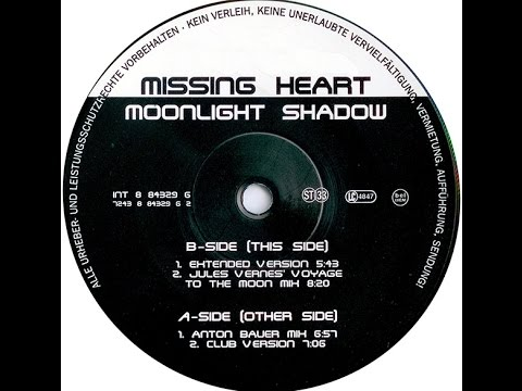 Missing Heart - Moonlight Shadow (Jules Vernes' Voyage To The Moon Mix)