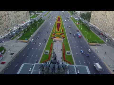 Аэро экскурсия по Москве на DJI Mavic pro