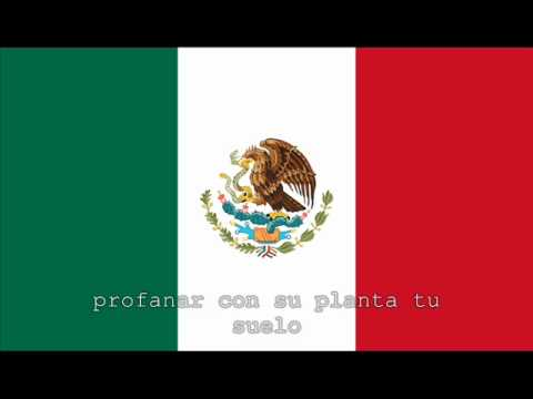 National Anthem Of Mexico Instrumental With Lyrics video