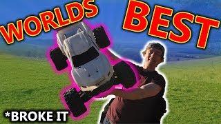 Best RC Car in the world - Traxxas X-Maxx V3 (broke it)