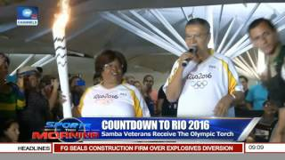 Sports This Morning: Countdown To 2016 Rio Olympics Pt 1