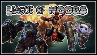 League of NOOBS - Tristana Flashes Locos y el Best Jungla Tangamandapio