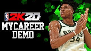 "NBA 2K20 - ""DEMO"" LAUNCHES AUG 21ST! CREATING MULTIPLE BUILDS & PLAYING ONLINE IN A DEMO?!"