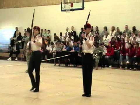 Montgomery Central High School Chief's Guard Drill Team