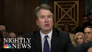 Trump Defends Kavanaugh As 2020 Democrats Call For His Removal | NBC Nightly News