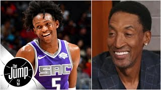 Scottie Pippen on NBA scoring explosion: 'I love it' | The Jump