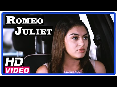 Romeo Juliet Tamil Movie | Scenes | Hansika talks about future to Jayam Ravi and asks to leave her