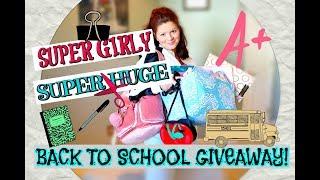 SUPER HUGE BACK TO SCHOOL GIVEAWAY! | 2018 | OPEN!!