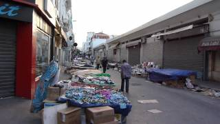 strada tunisi ramadan ora del tramonto