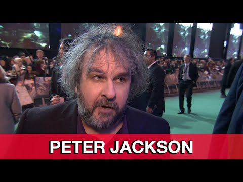 Peter Jackson Interview - The Hobbit The Battle of the Five Armies World Premiere