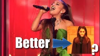 Ariana Grande Lost her Voice???? Vocal Comparison 2007 vs 2018 The Wizard and I